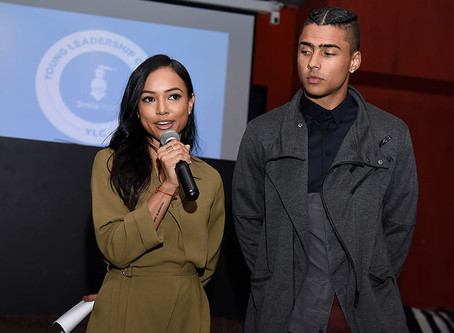 Interview: Karrueche Tran and Quincy Brown at Smile Train event