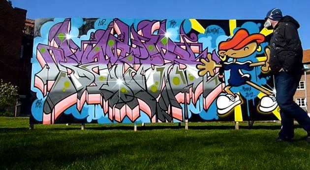 MUSE: Graffiti Artist Bates