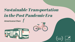Sustainable Transportation in the Post Pandemic Era