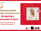 Carolin Kunert from Knister Grill: Designing a Sustainable Tomorrow