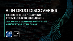 Geometric Deep Learning - From Euclid to Drug Design