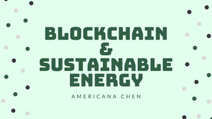 Why Blockchain is NOT the challenge but the SOLUTION to sustainable energy