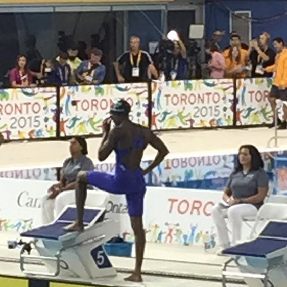 First medal for #teambahamas Goes to the