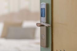 Dettaglio serratura elettronica
