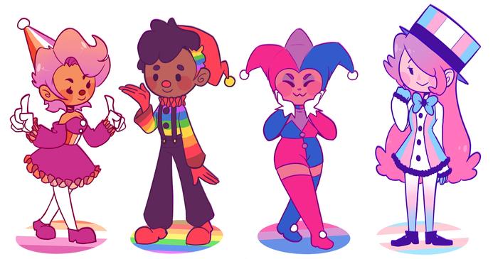 LGBT Clowns