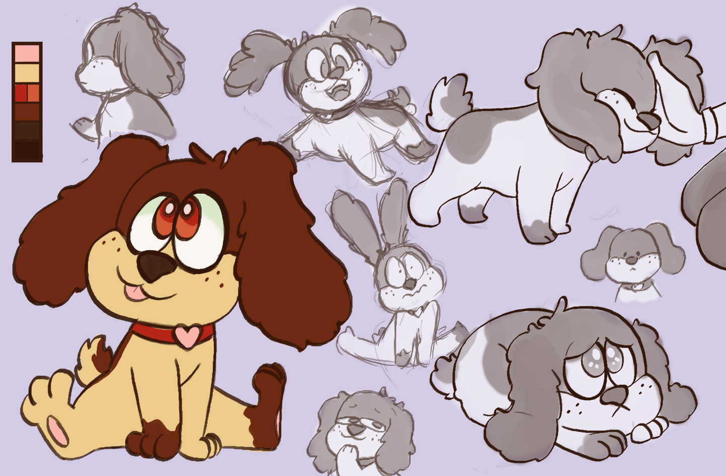 Puppy Character Sheet