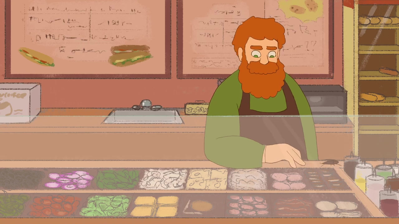 Animation, character design, backgrounds, and editing done by me, voices by Keagan Marcella and Eben Taylor