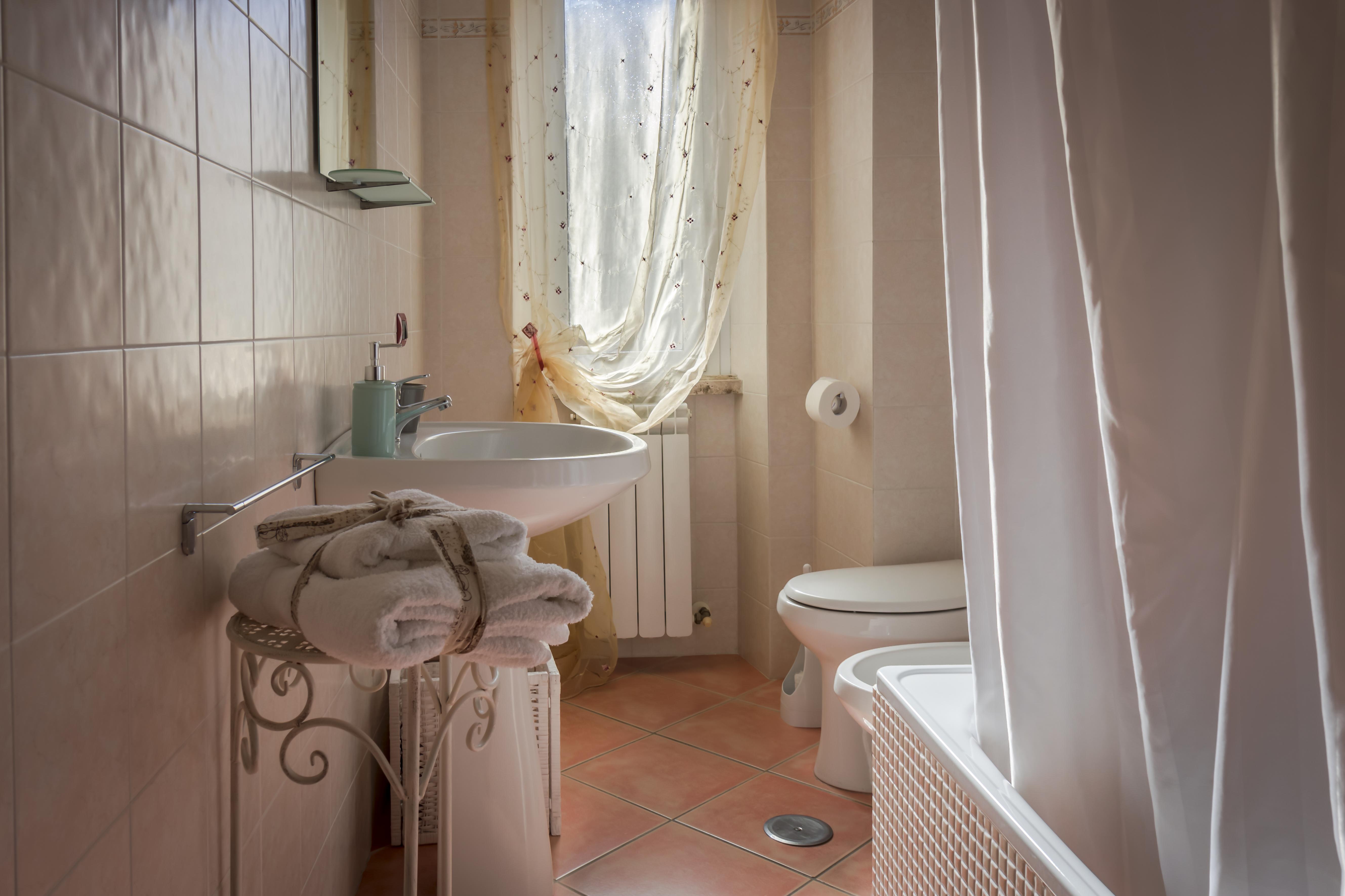 bagno in camera camera viterbo