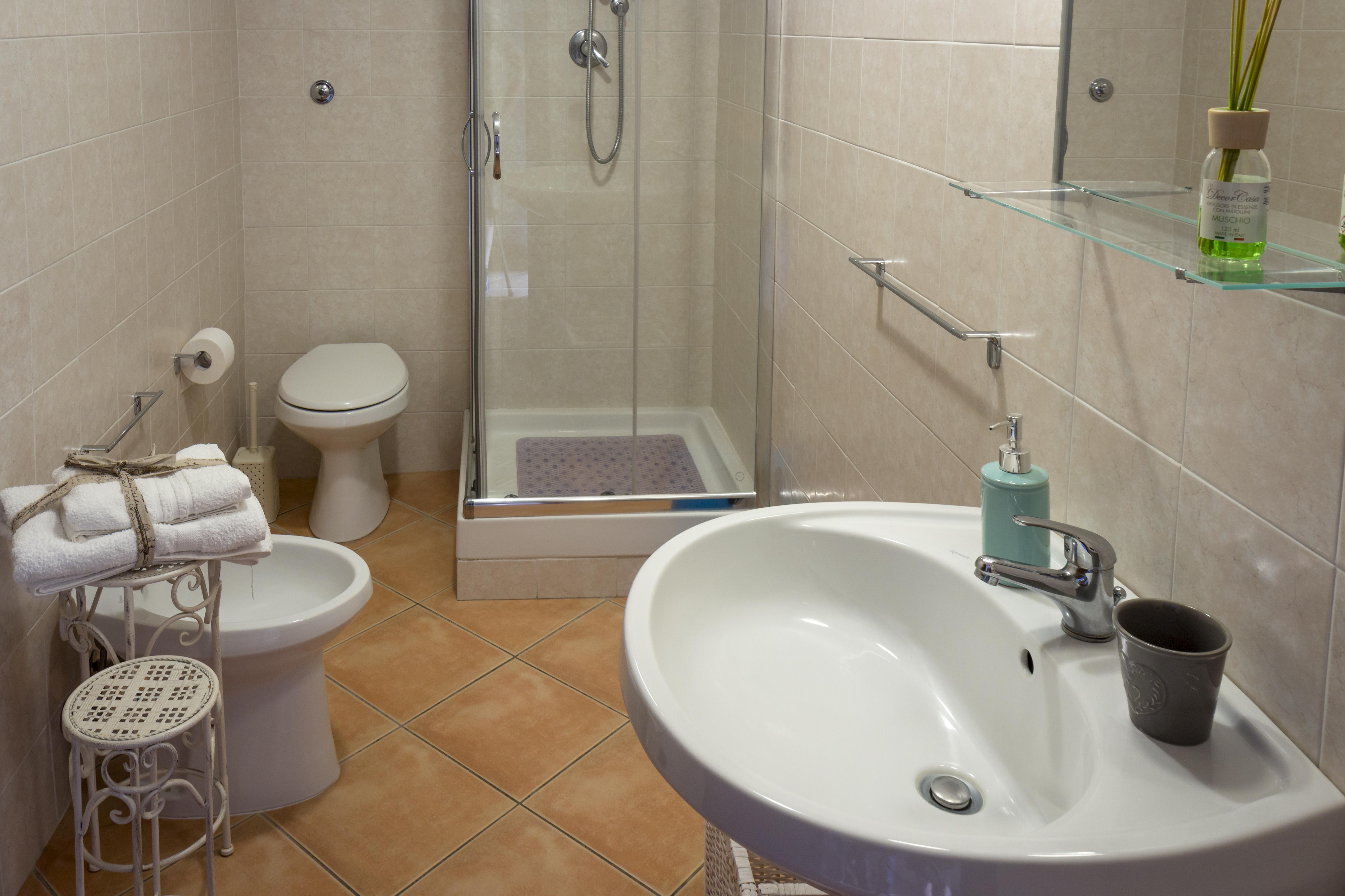 bagno privato b&b