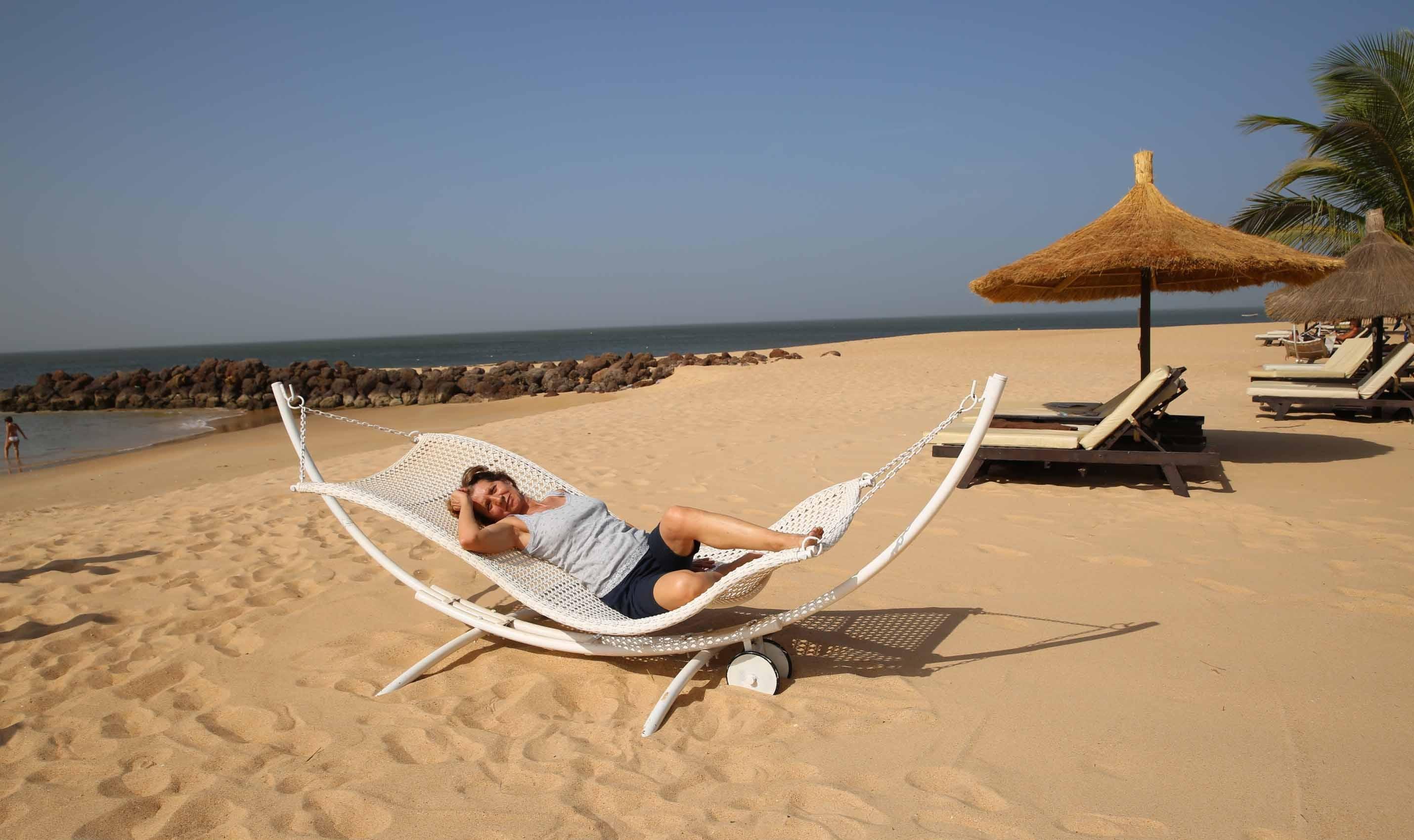 Farniente sur la petite cote au Sénégal
