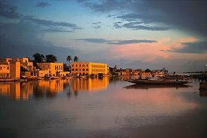 Visages_du_Sénégal,_Saint_-_Louis_vue_