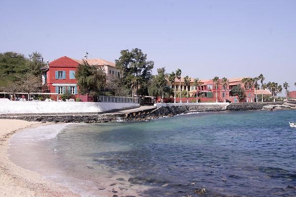 Ile de Gorée au Sénégal