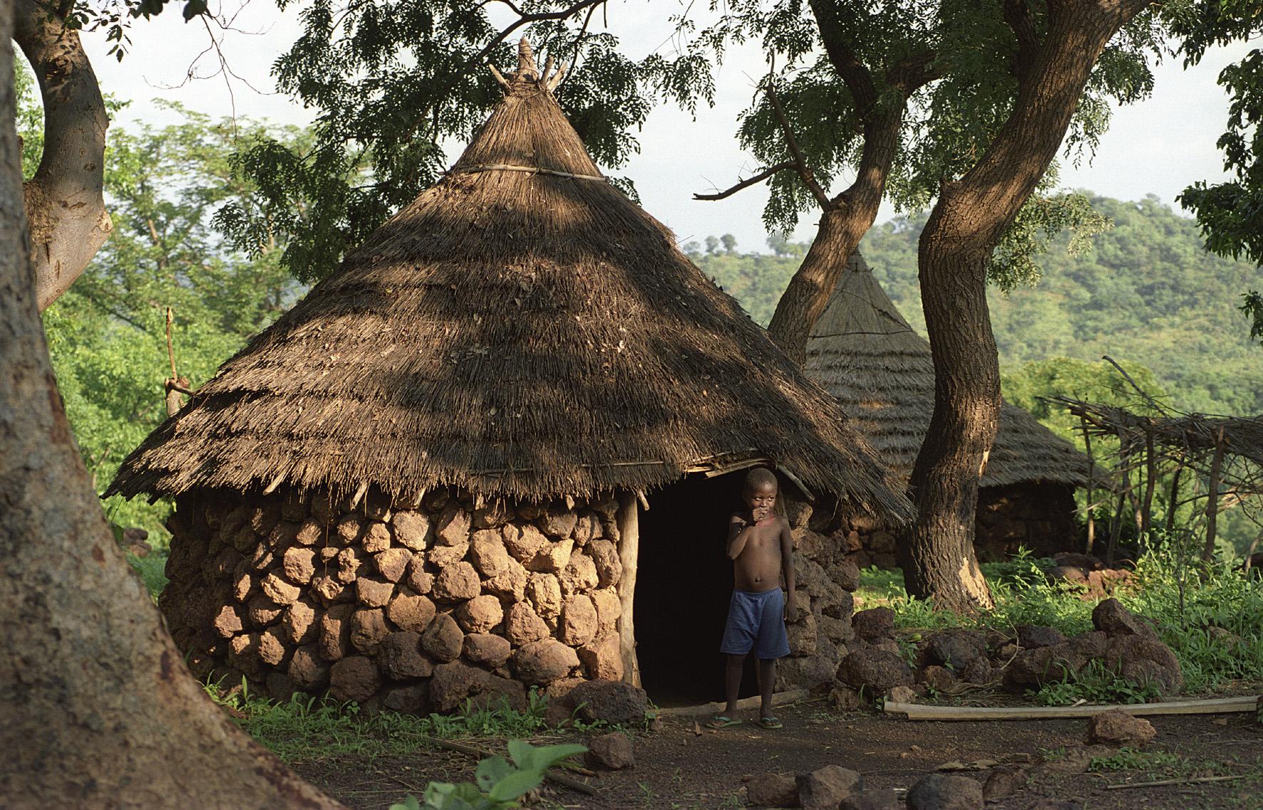 le pays bassari, au sénégal
