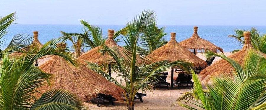 plage à Saly au Sénégal