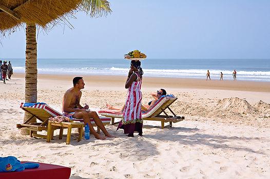 Farniente au Cap Skirring, au Sénégal -