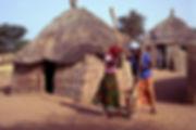 Moment de vie dans un village du Sénégal