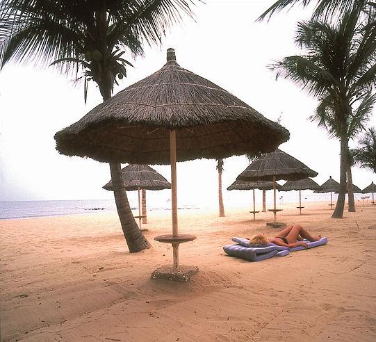 Farniente sur la petite côte au Sénégal