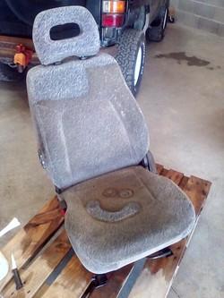 Prélavage sièges