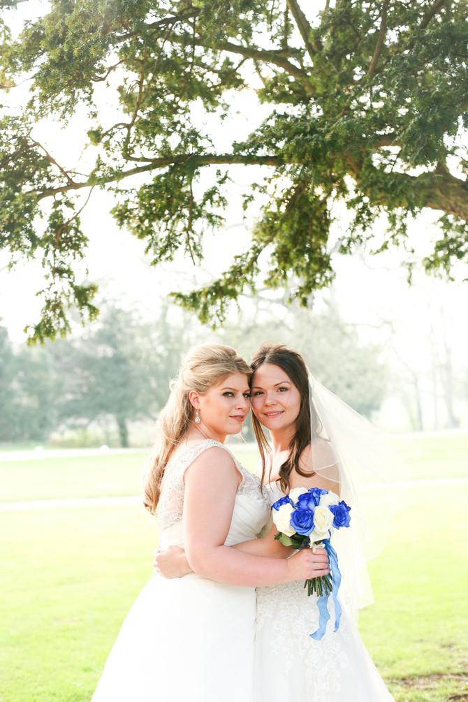 Sarah & Samantha's Wedding at Hazlewood Castle