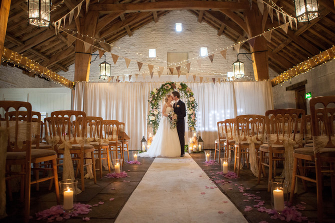 Natalie & Dan's Wedding at East Riddlesden Hall