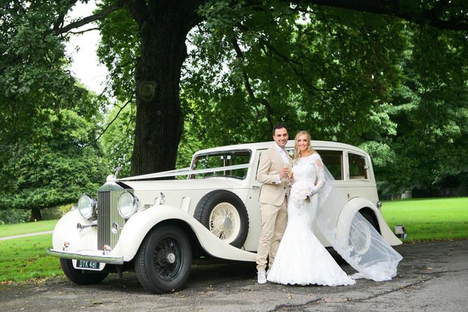Sarah & James' Church wedding at Nostell Priory