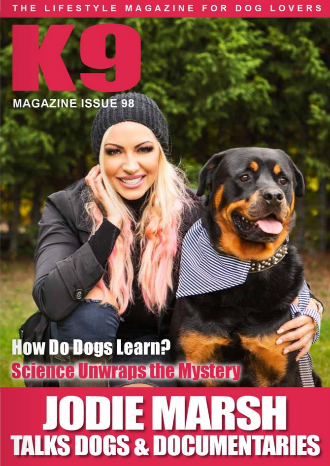K9 Magazine shoot with Jodie Marsh
