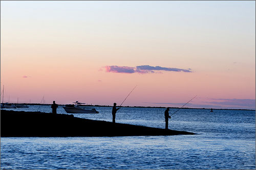 Sunset_fishing_on_Nantucket