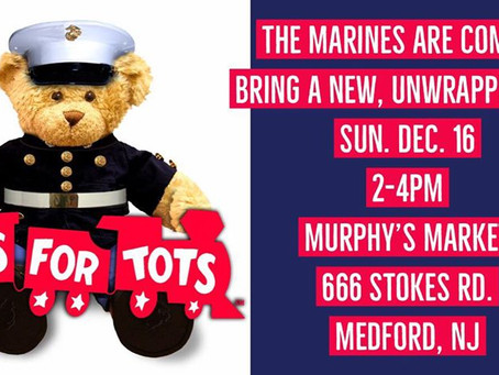 Murphy's and the Toys for Tots Marines