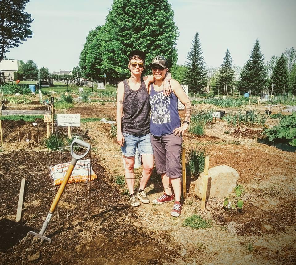 Le jardin collectif!