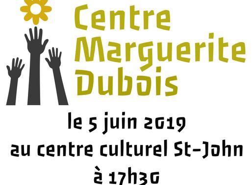 L'AGA du Centre Marguerite Dubois 2019