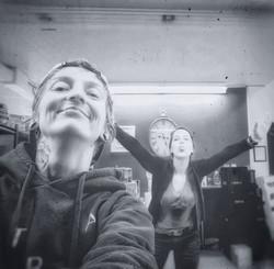 Jess Simoneau et Valérie Marin