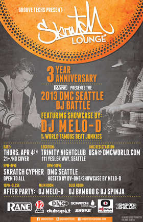 Scratch Lounge 3rd Year Anniversary