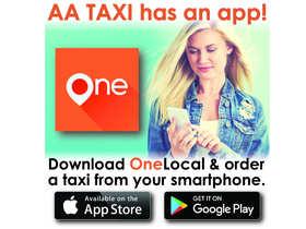 AA Taxi Decal