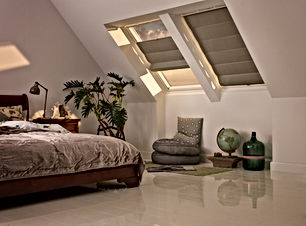 Velux Roman Blinds