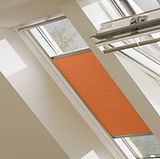 Velux pleated blind sunny orange.jpg