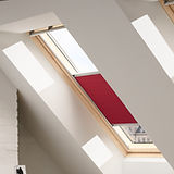 Velux pleated blind classic red.jpg