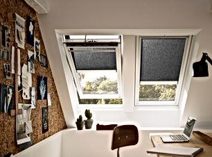 Velux roller blinds solar powered