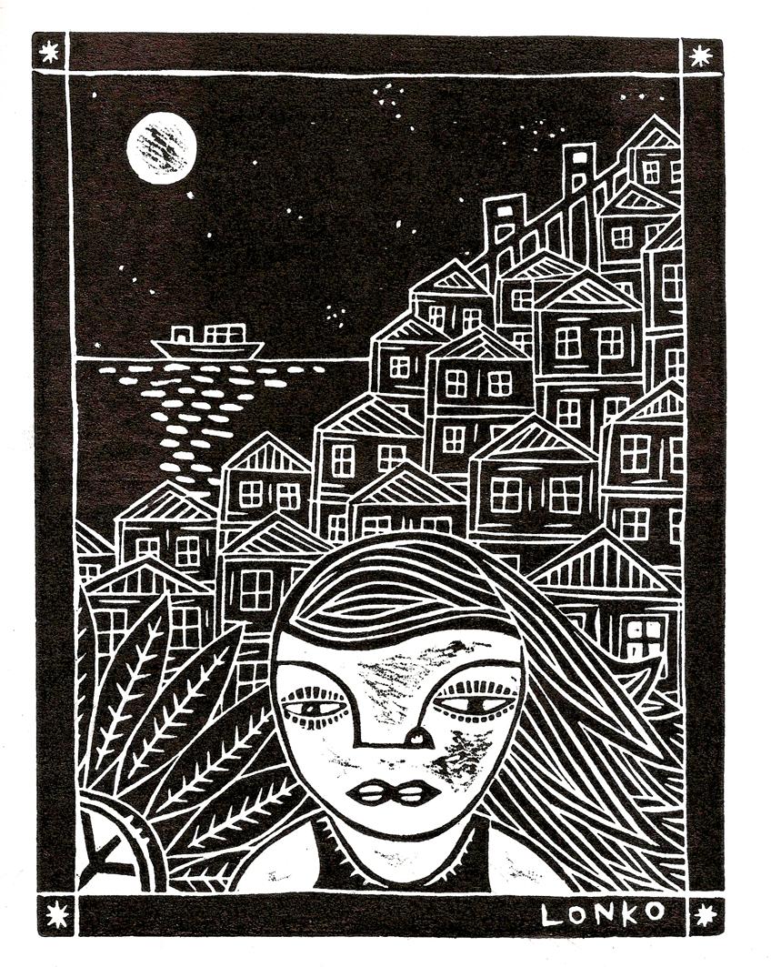 """""""Valparaíso de noche"""""""