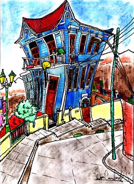 """""""Casa Cuatro vientos"""" (Colección Anticrónicas Patrimoniales)"""