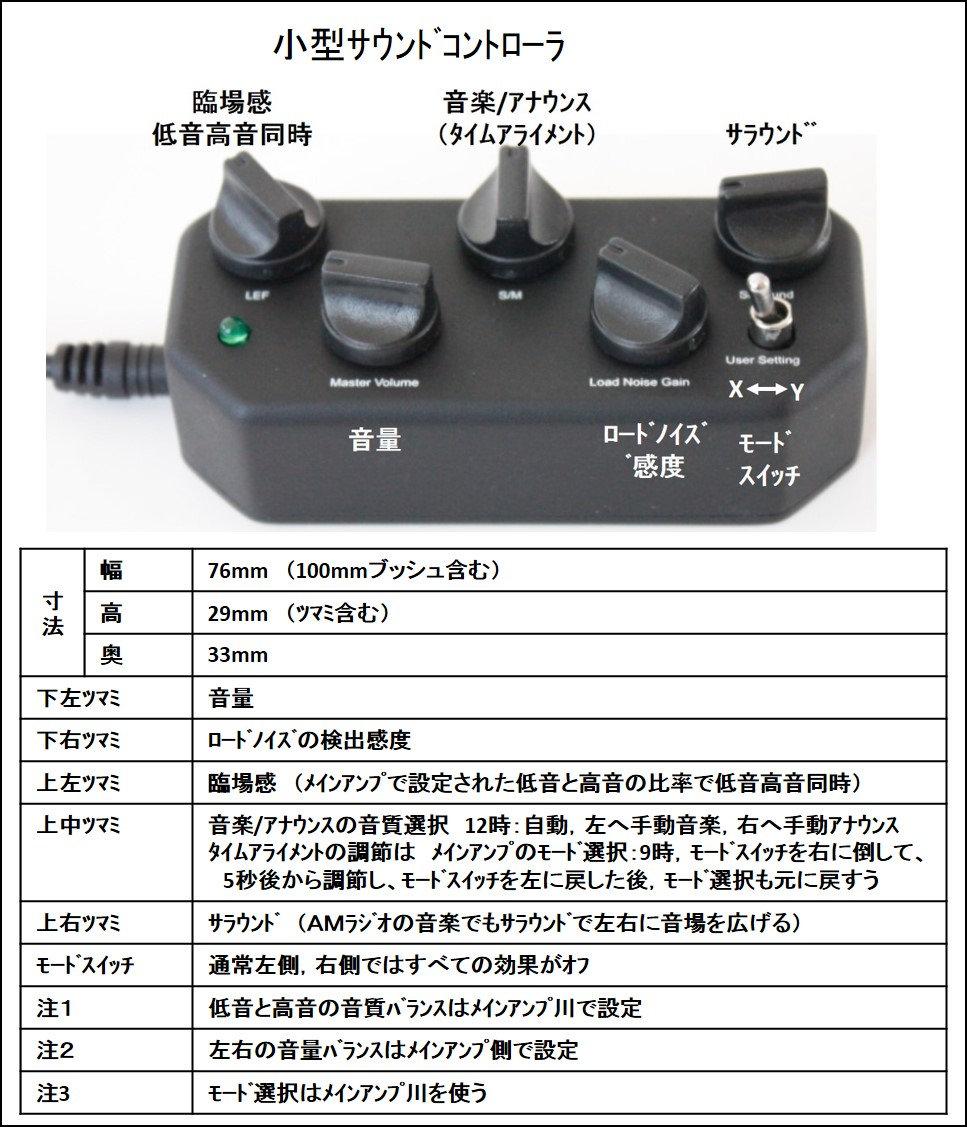 Dサウンドシャキット 小型サウンドコントローラ