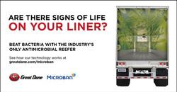 Microban Linkedin Advertisement