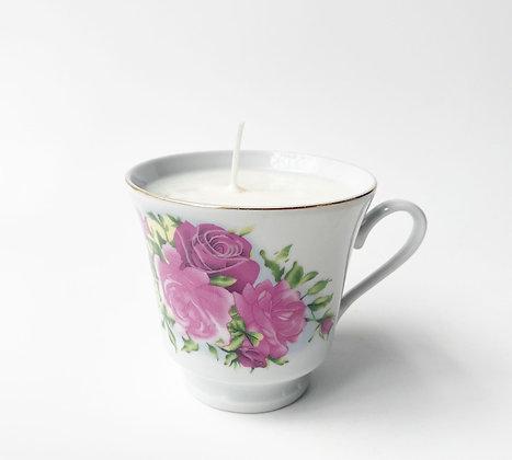 Handmade Natural Soy Candle - Sandalwood + Patchouli