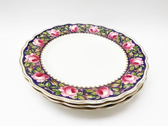 Royal Petal Plate Set of 4