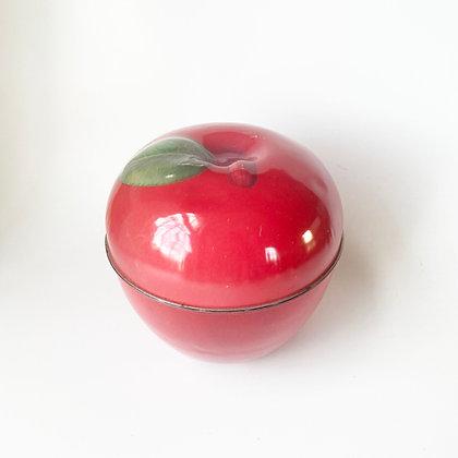 Teacher's Apple Tin