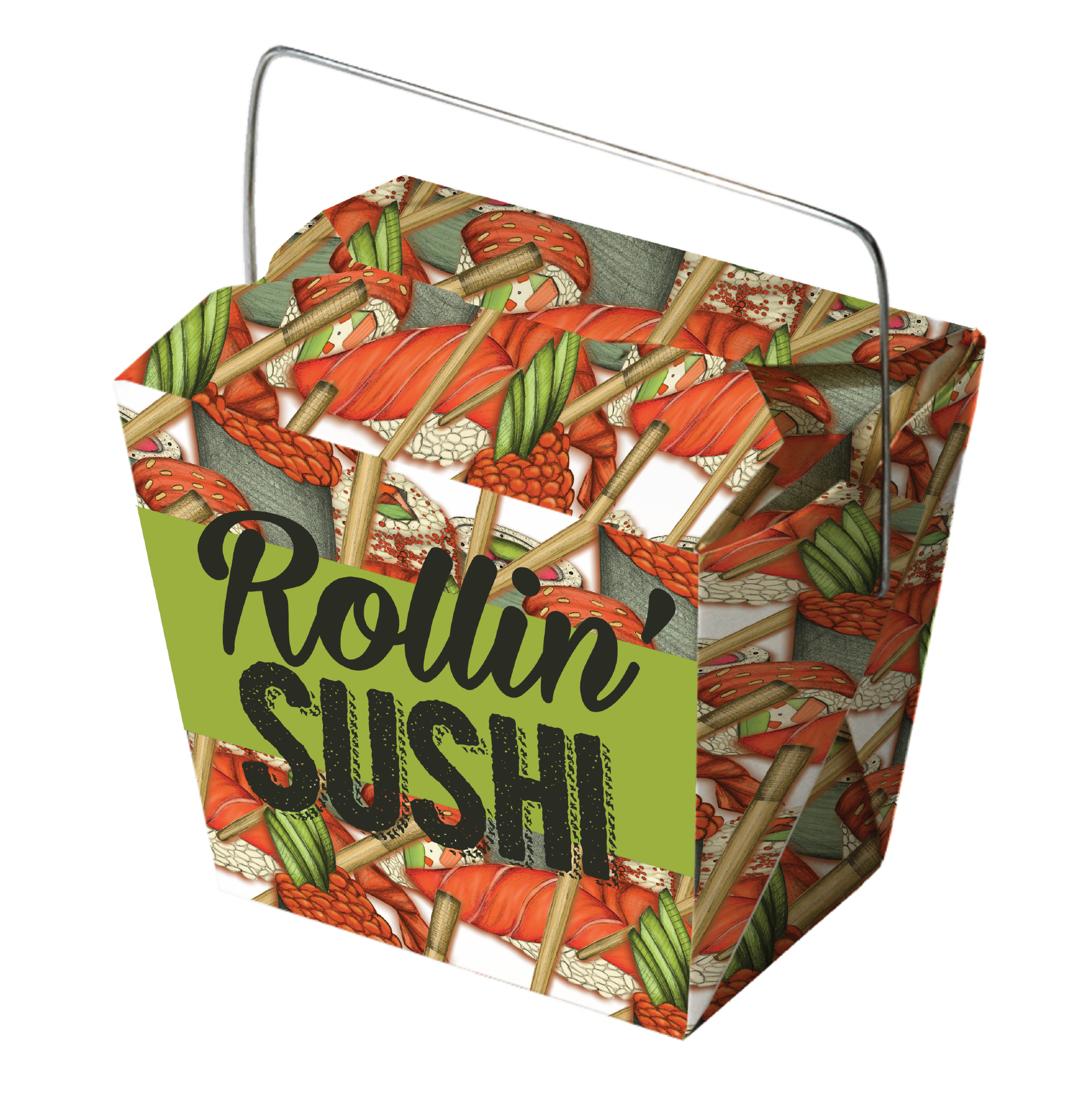 Rollin' Sushi Packaging Design