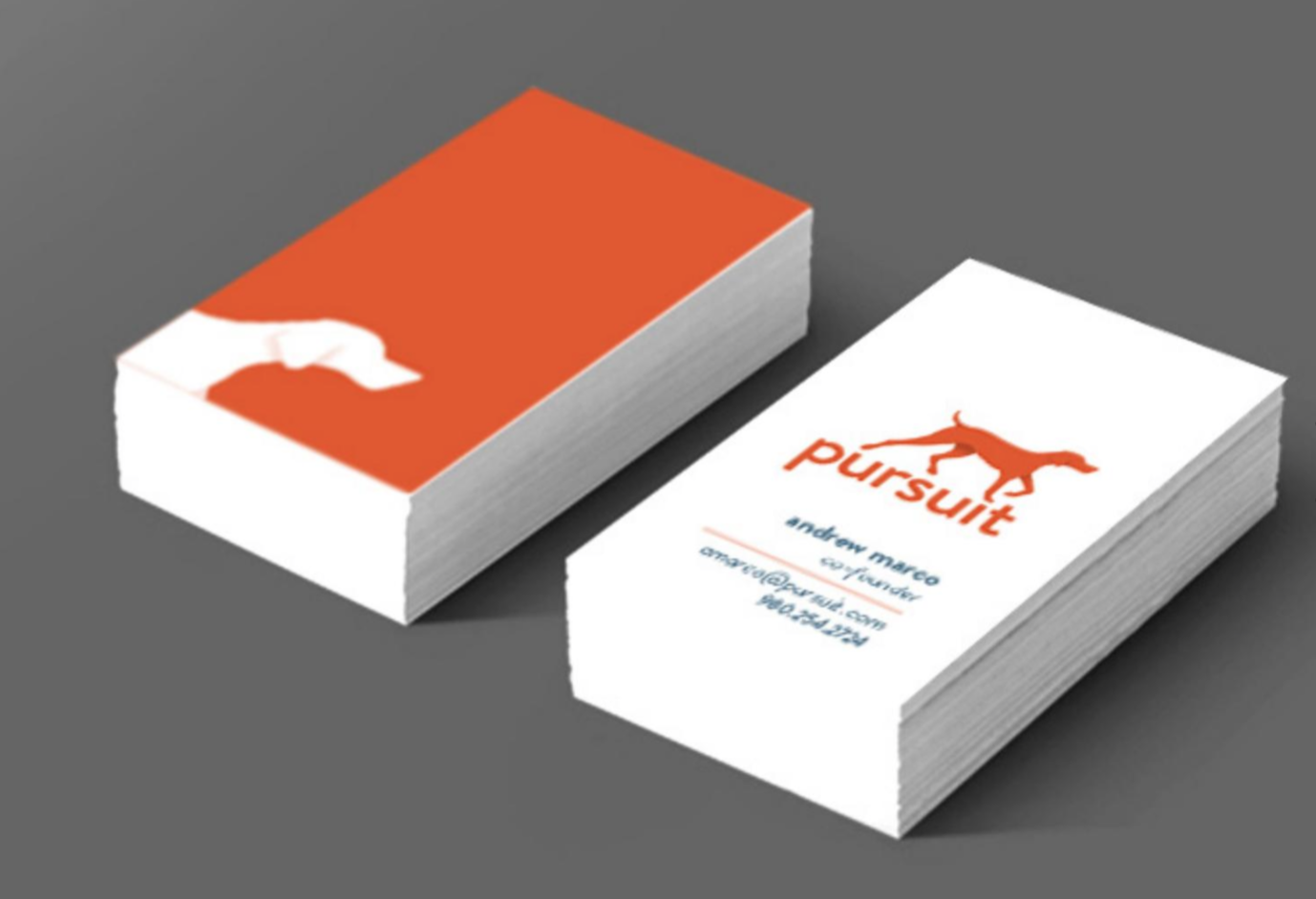 Pursuit Business Cards