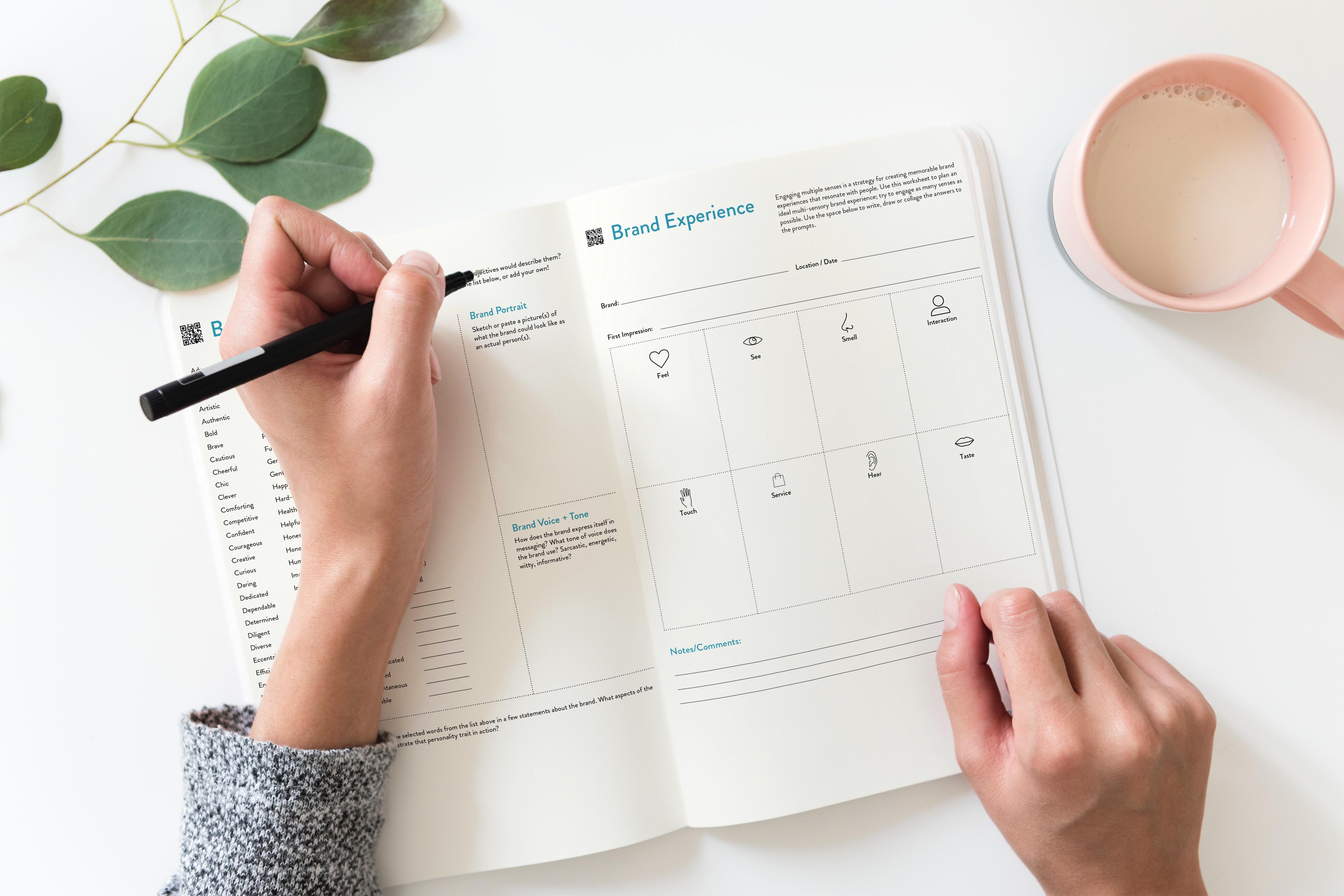 Brand Experience Sketchbook