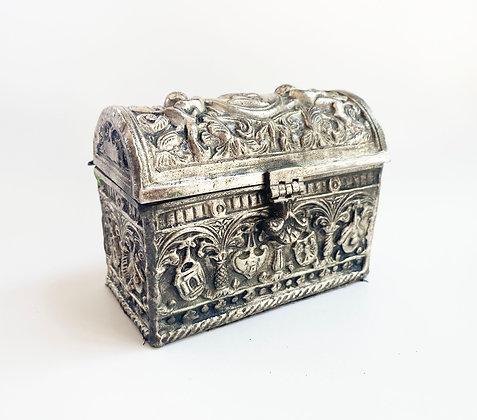 Ornate Mini Jewelry Box