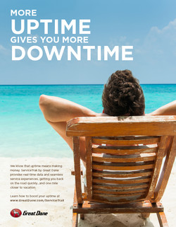 Uptime Print Ad