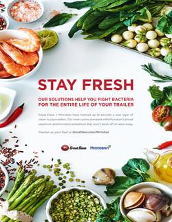 Microban Stay Fresh Ad